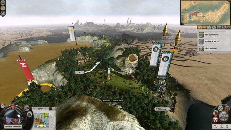 Expanded Japan Total War: Shogun 2 mod screenshot