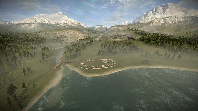 Lakeside Castle mod for Total War: Shogun 2