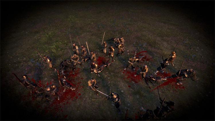 GBJ Blood Mod: The Samurai Blood Total War: Shogun 2