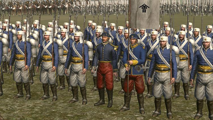 FoTS Tactics and Uniforms Total War: Shogun 2 mod