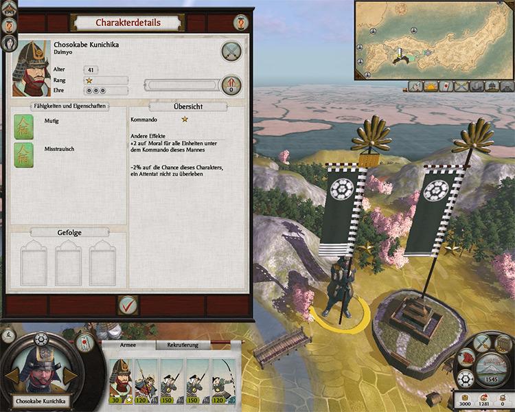 Daimyos & Generals MOD for Total War: Shogun 2