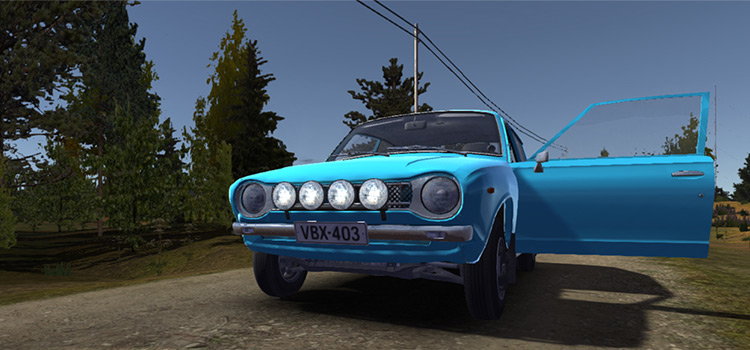 Rally Spotlights My Summer Car Modded