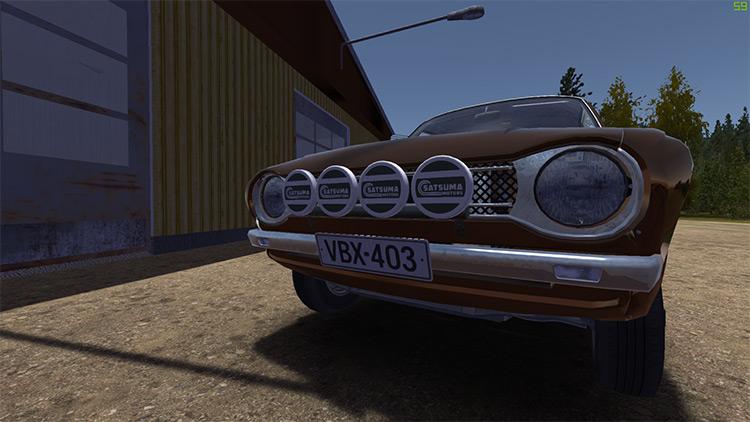Rally Spotlights My Summer Car mod screenshot