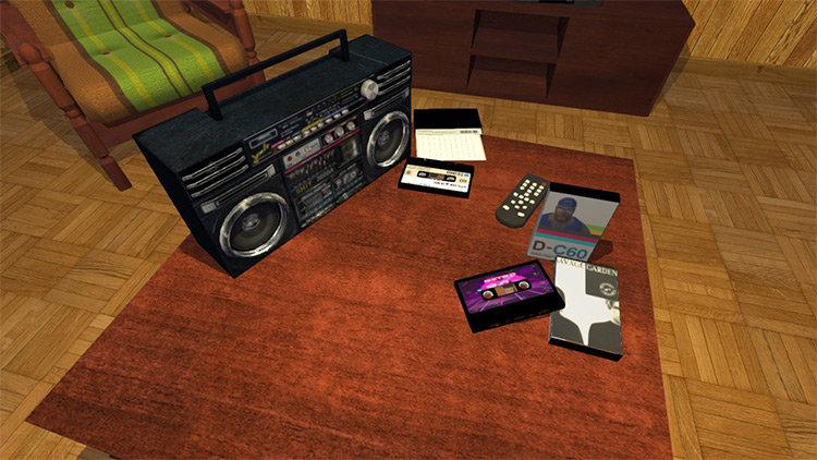 Cassette Tapes mod for My Summer Car