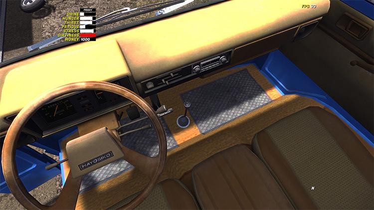 Hayosiko 4x4 My Summer Car mod screenshot