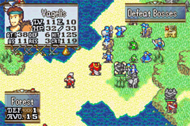 Fire Emblem: Vision Quest ROM hack