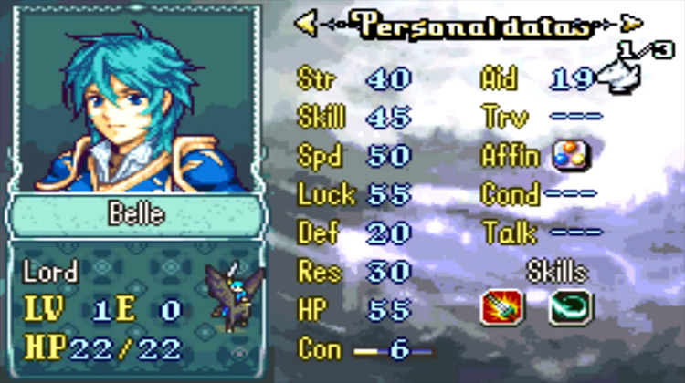 Fire Emblem: Staff of Ages ROM hack