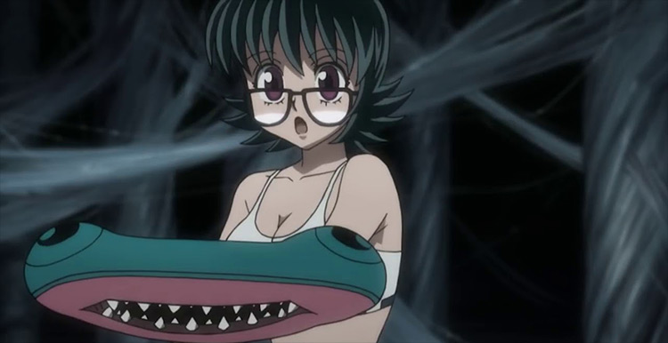 Shizuku from Hunter x Hunter