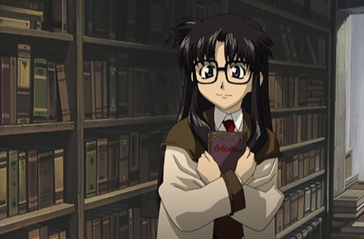 Yomiko Readman from Read Or Die anime