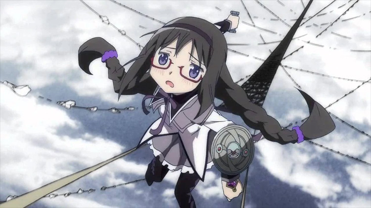 Homura Akemi from Mahou Shoujo Madoka★Magica