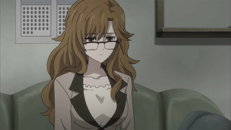 Moeka Kiryuu Steins;Gate anime screenshot