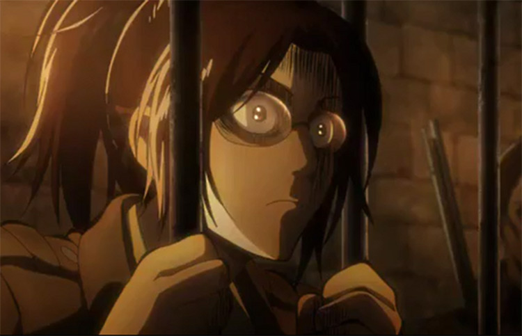 Hange Zoë Attack on Titan anime