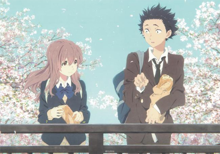 A Silent Voice anime screenshot