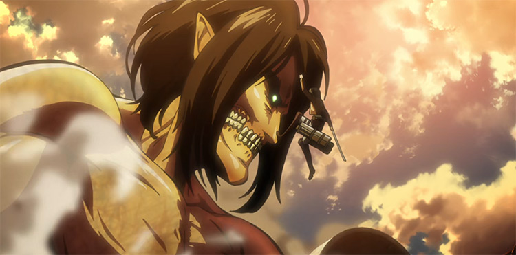 Attack on Titan anime screenshot