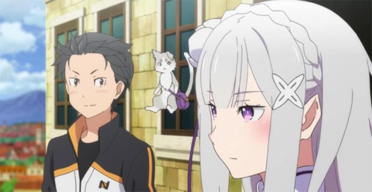 Re: Zero anime screenshot