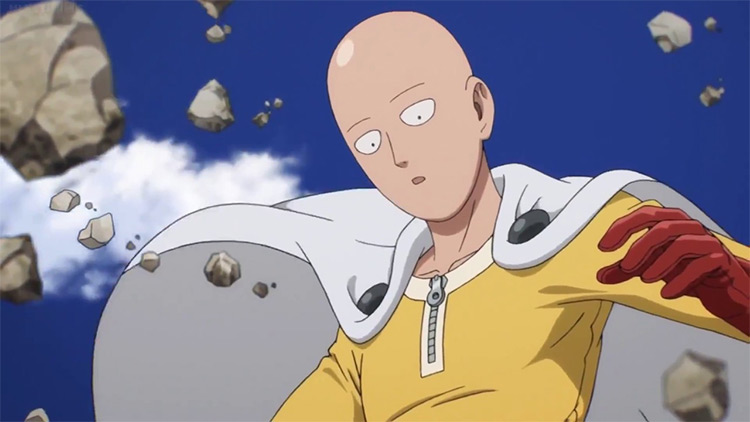 One Punch Man anime screenshot