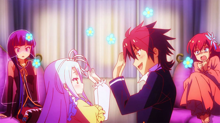 No Game No Life anime screenshot