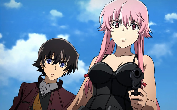 Mirai Nikki anime screenshot