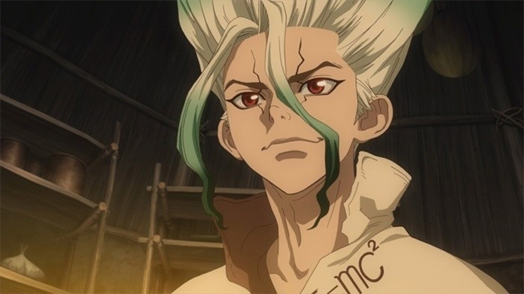 Dr. Stone anime screenshot