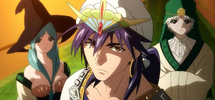 Sinbad Magi Anime Characters Screenshot