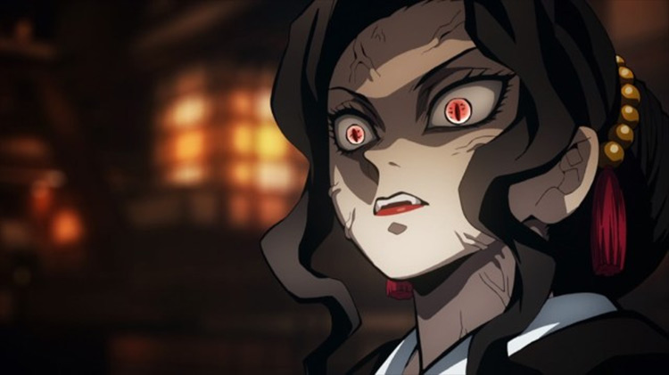 Muzan Kibutsuji Demon Slayer screenshot