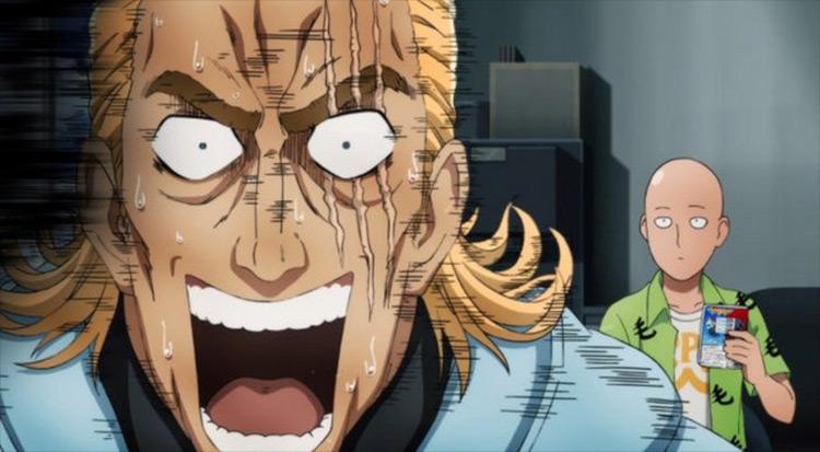 King One Punch Man anime screenshot