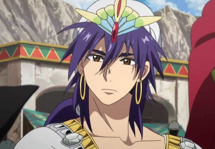 Sinbad from Magi: The Labyrinth of Magic anime