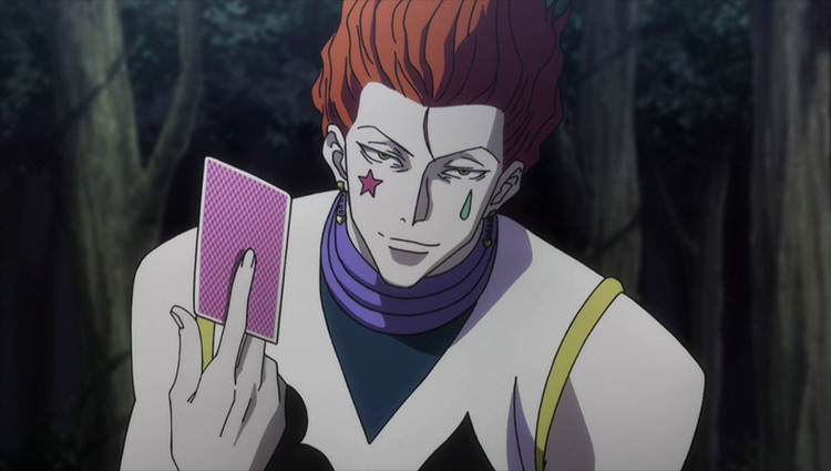 Hisoka Morow Hunter x Hunter anime
