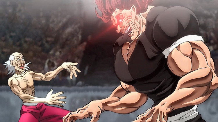 Yujiro Hanma from Baki the Grappler