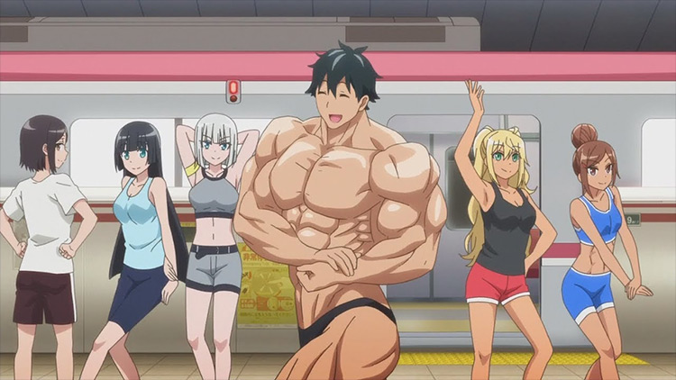 Machio Naruzo from Dumbbell Nan Kilo Moteru? anime
