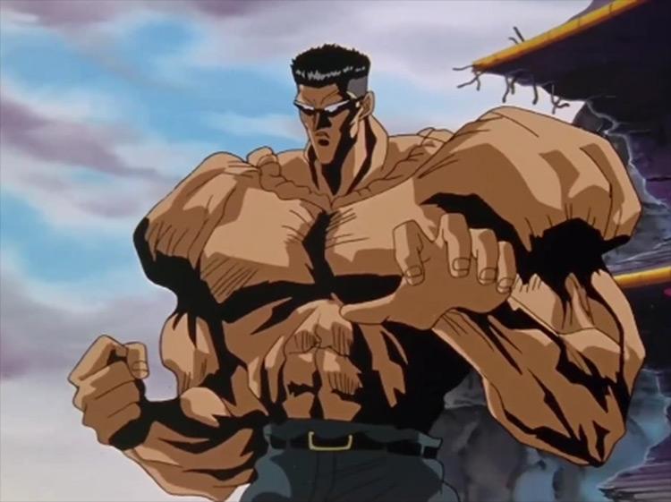 Younger Toguro from Yu Yu Hakusho anime