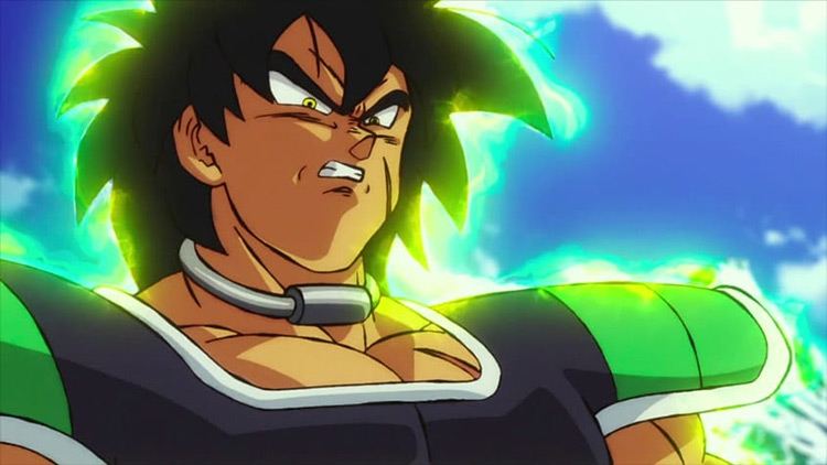 Captura de pantalla de Broly Dragon Ball Super