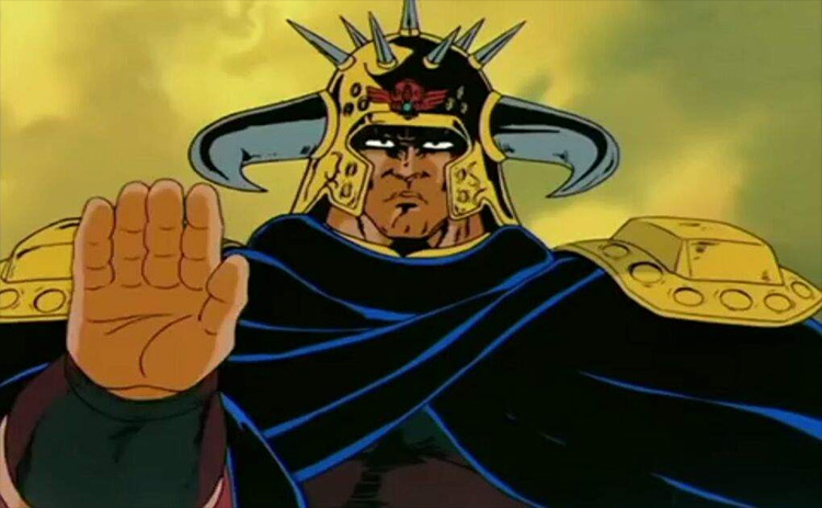 El anime Raoh Fist of the North Star