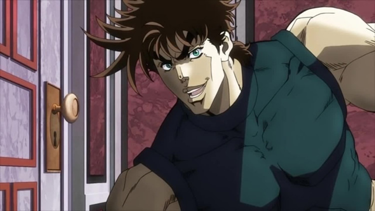Joseph Joestar from Jojo's Bizarre Adventure