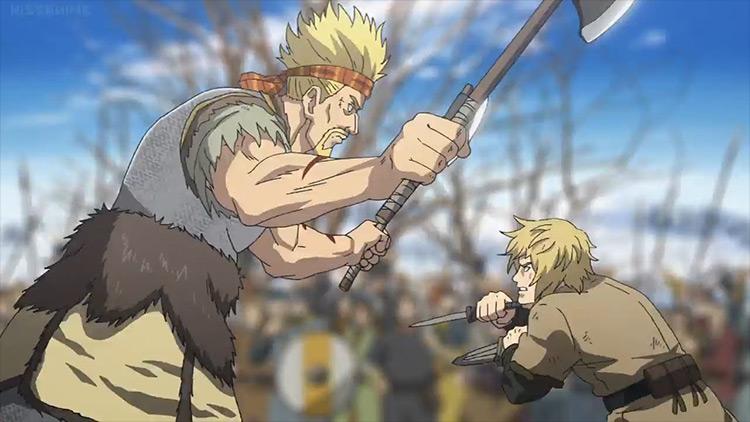 Thorkell the Tall from Vinland Saga anime