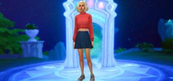 Sims4 CAS Magical Background in CreateASim - Mod Screenshot