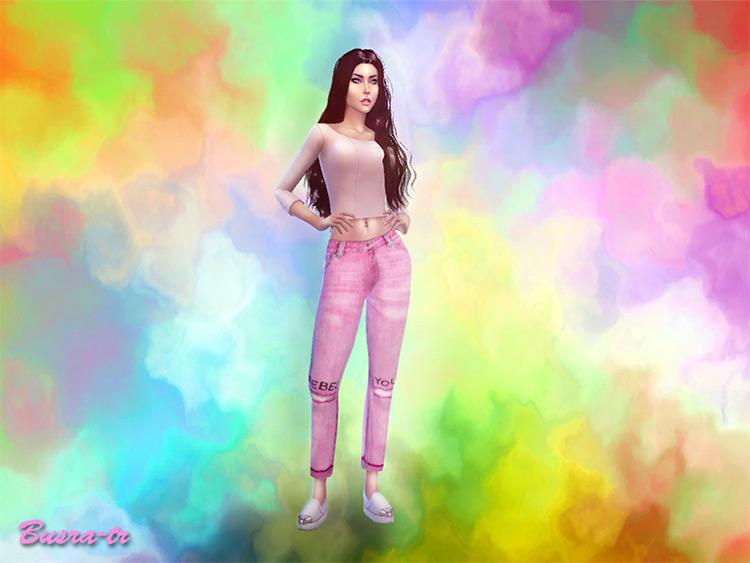 Rainbow CreateASim Mod