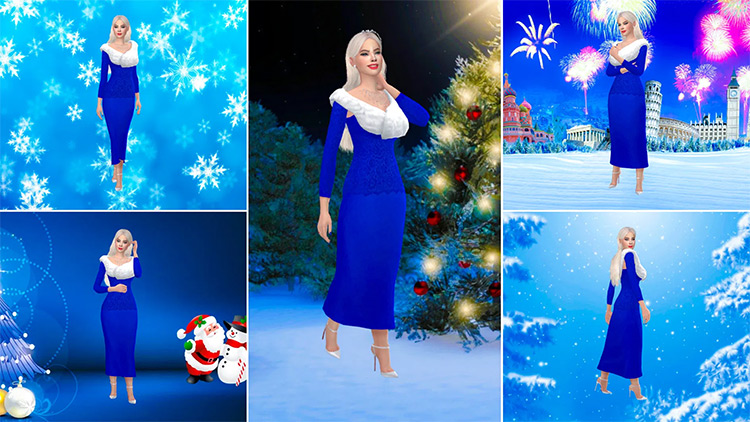 Winter Wonderland Sims4 CAS
