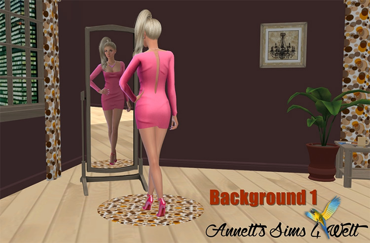 Annett Room background Sims4