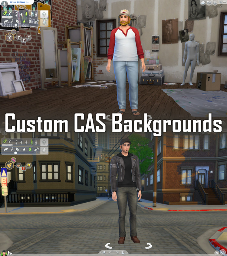 Custom CAS Backgrounds Set