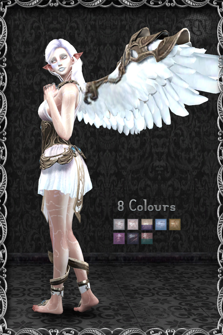 Celestial Fairy Wings for The Sims 4