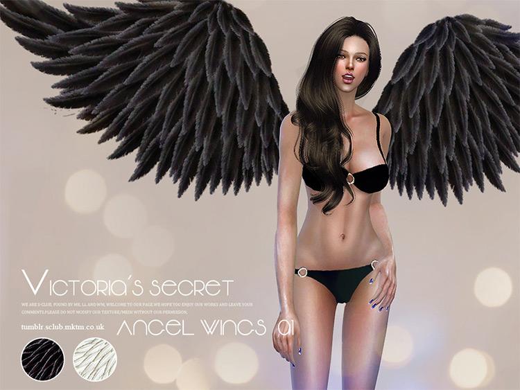 LL TS4 - Victorias Secret Angel Wings CC