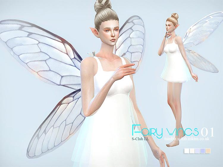 S-Club LL TS4 Fairy Wings CC