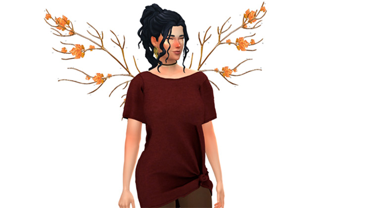 Windy Set of wings for TS4