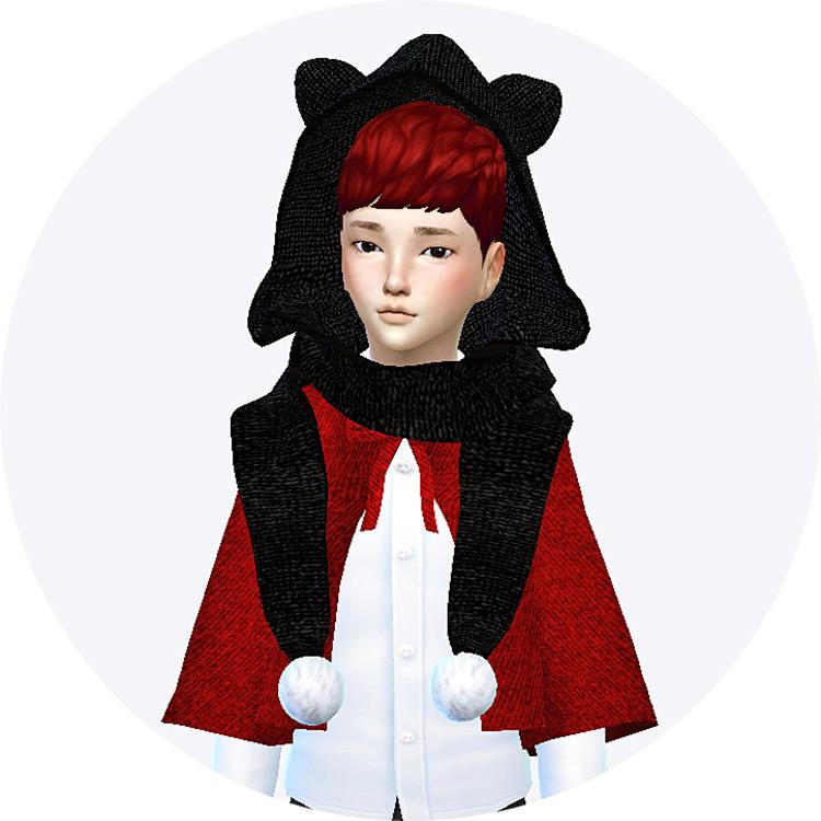 Kids Cat Scarf CC - TS4