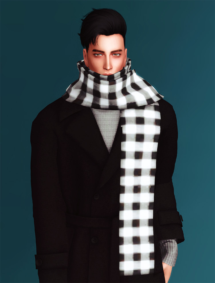 Long Scarf for Men - Gorilla CC Creator