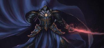 Big Bad Shadow Warlock with a blade