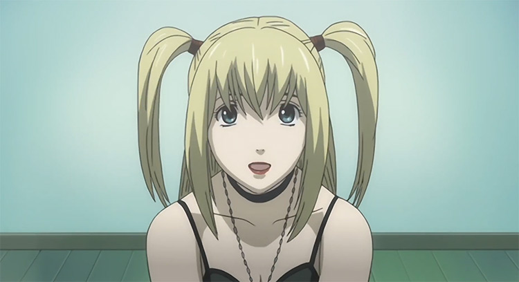 Misa Amane in Death Note