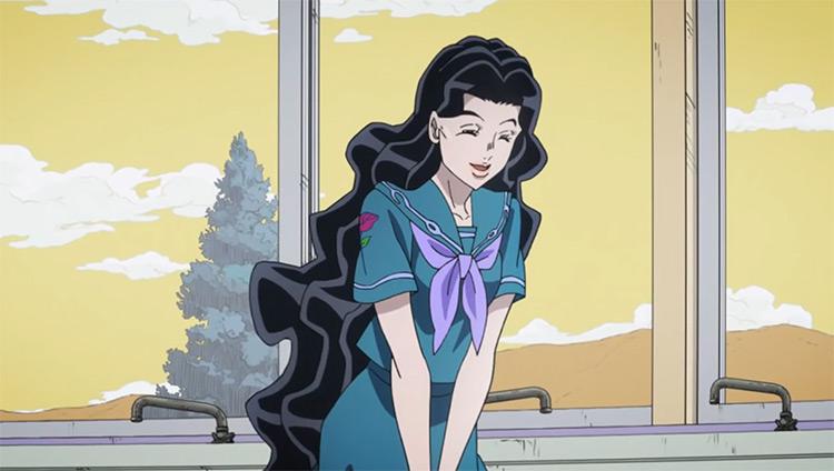 Yukako Yamagishi in JoJo's Bizarre Adventure