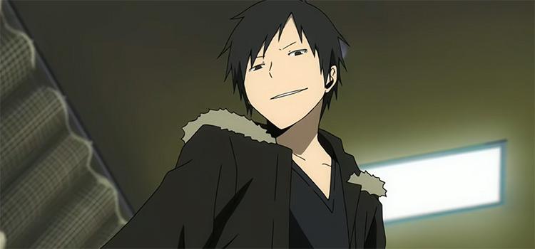 Izaya Orihara from Durarara Anime (Screenshot)